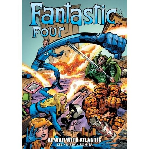 New Fantastic Four Marvel Epic Collection Graphic Novel Comic Book