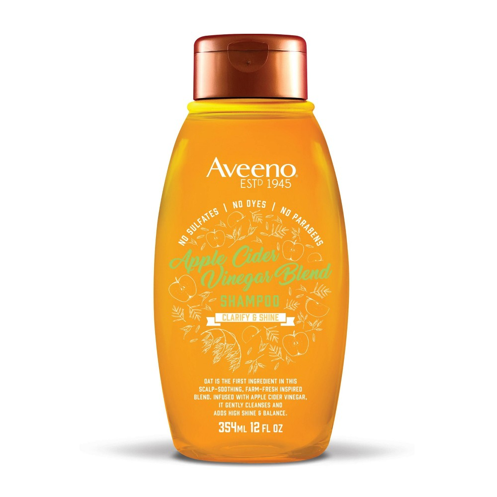 Image of Aveeno Apple Cider Vinegar Blend Shampoo - 12 fl oz