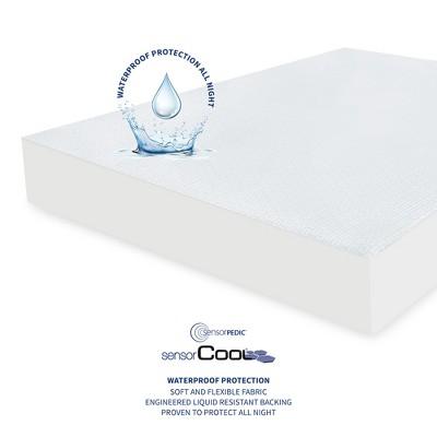 SensorPEDIC SensorCOOL Elite Ultra Cooling Waterproof Mattress Protector