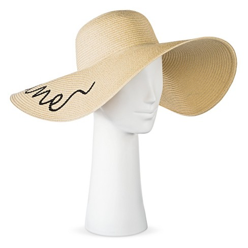 "Women's ""Hello Sunshine"" Floppy Hat - image 1 of 2"