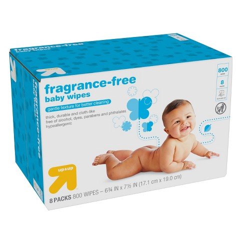 b854f15a5d2 Baby Wipes Refill Pack - Unscented - 800ct - Up&Up™ : Target