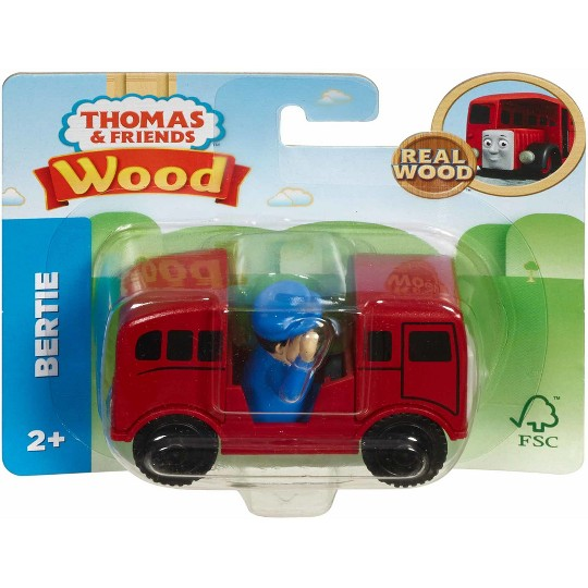 Fisher-Price Thomas & Friends Wood Bertie Engine image number null