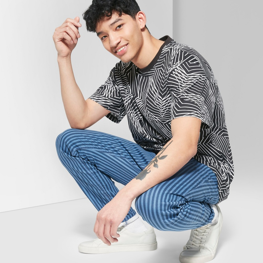 Men's Printed Short Sleeve T-Shirt - Original Use Black 2XL