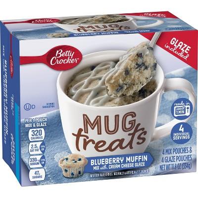 Betty Crocker Mug Treats Blueberry Muffin Mix - 4ct/11.8oz