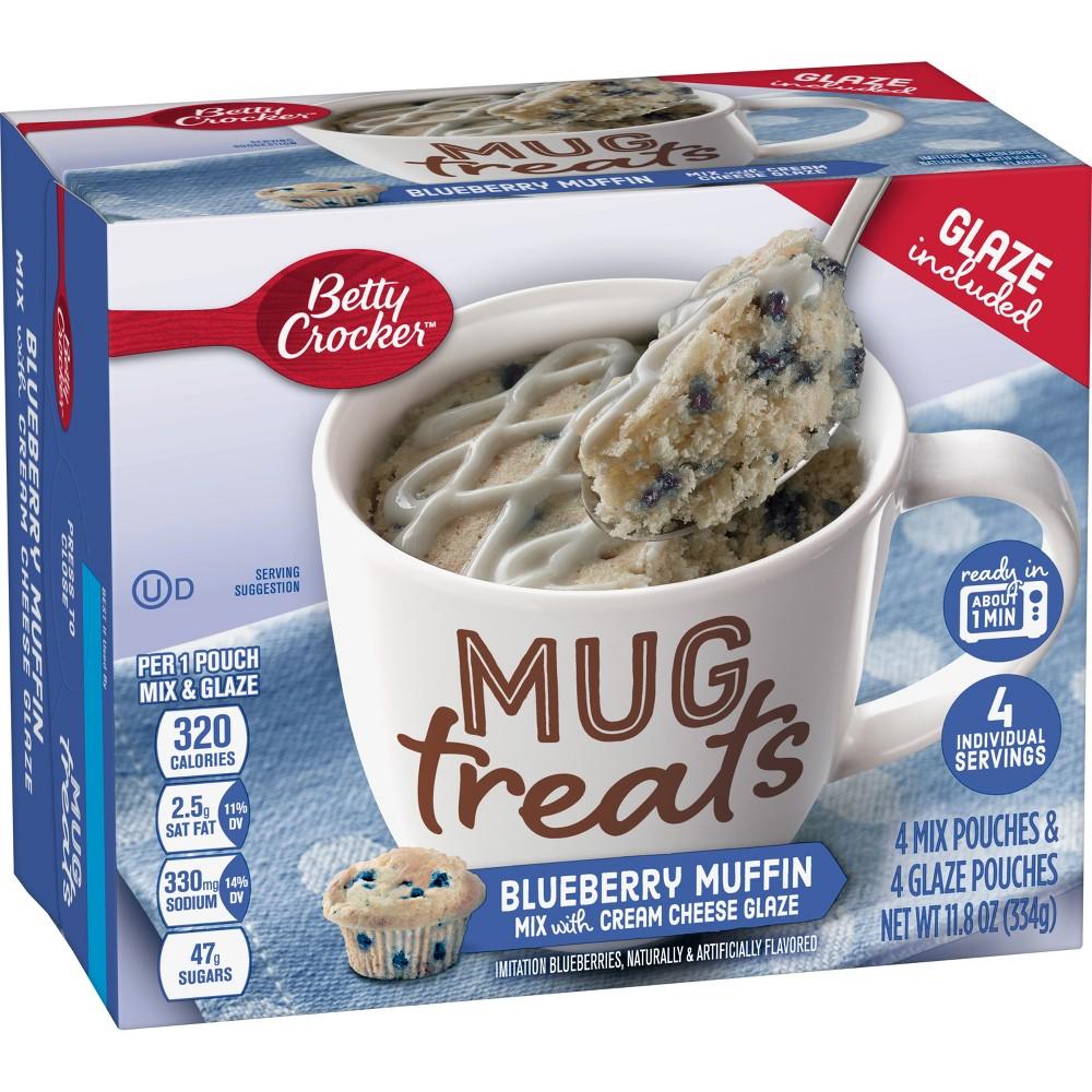 Betty Crocker Mug Treats Blueberry Muffin Mix 4ct 11 8oz