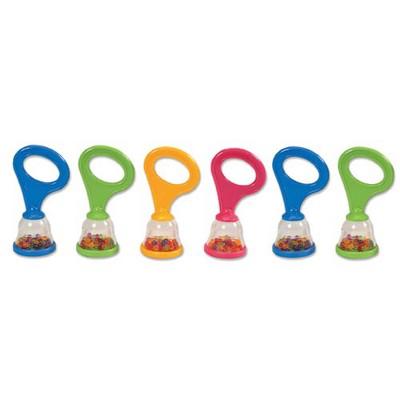 Edushape Ltd Baby Mini Maracas  - Set of 6
