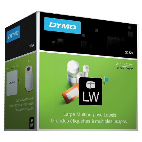 DYMO Diskette Labels - 2 - 3/4 x 2 - 1/8 - White (320/Box) - image 1 of 1