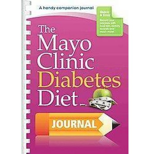 Mayo Clinic Diabetes Diet Journal (Paperback) - image 1 of 1