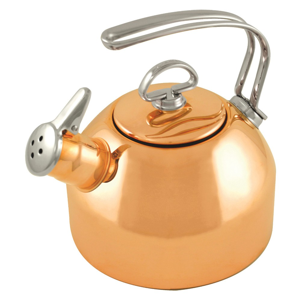 Image of Chantal 1.8qt Classic Tea Kettle - Copper, Brown