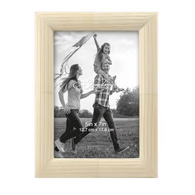 "5"" x 7"" Round Bone Single Photo Frame - Stonebriar Collection"