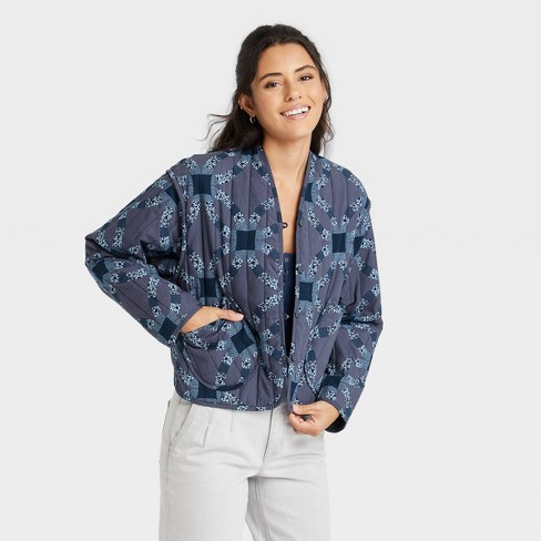 Women's Quilted Jacket - Universal Thread™ - image 1 of 3