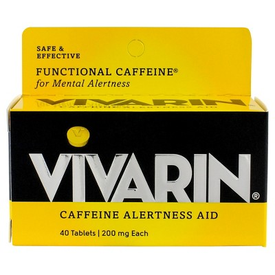 Vivarin Caffeine Alertness Aid Tablets - 40ct