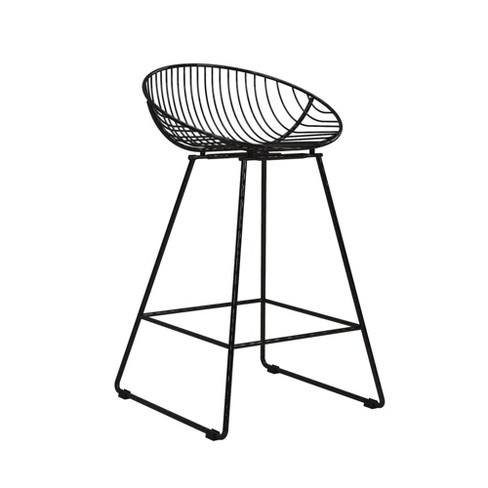 Terrific Ellis Wire Counter Stool Cosmoliving By Cosmopolitan Gamerscity Chair Design For Home Gamerscityorg