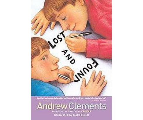 Lost and Found (Reprint) (Paperback) (Andrew Clements) - image 1 of 1