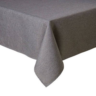 """60""""X120"""" Somers Tablecloth Gray - Town & Country Living"""