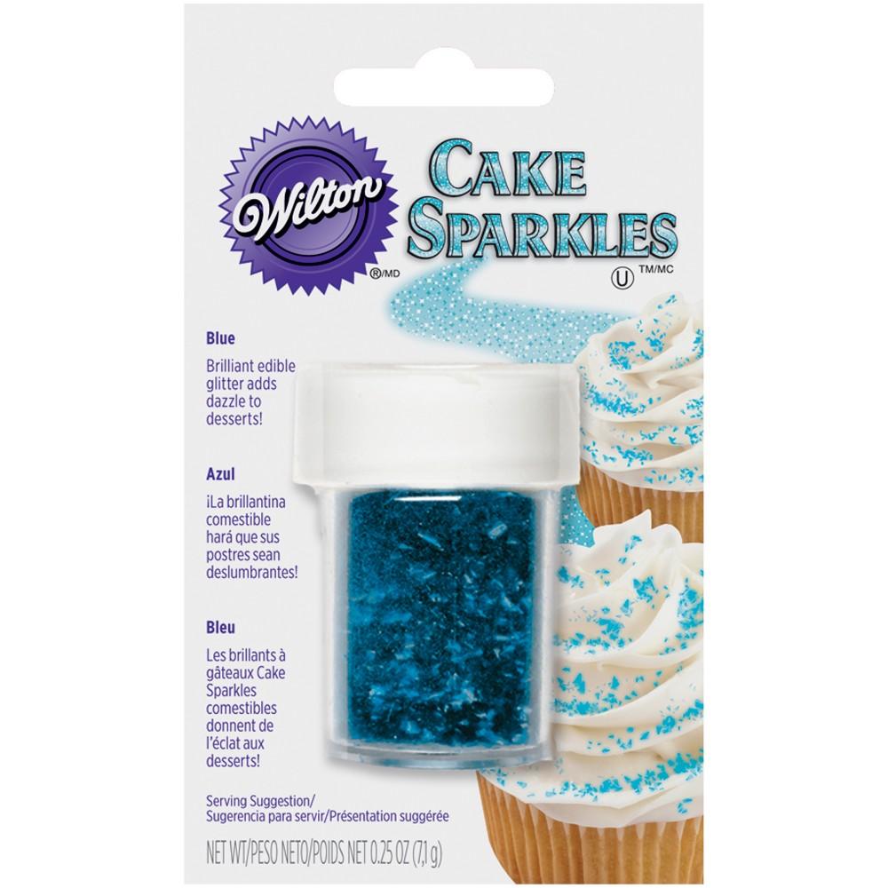 Blue Cake Sparkles - Wilton