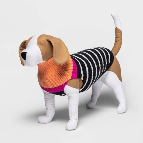 Holiday Dog and Cat Striped Sweater - Boots & Barkley™ - image 1 of 4