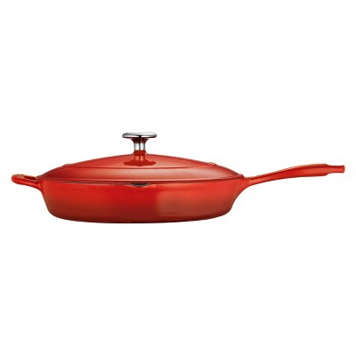 Tramontina Cast Iron Covered Skillet