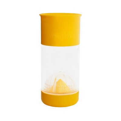 Munchkin Miracle 360 Fruit Infuser Yellow Sippy Cup 14oz