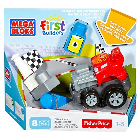 Mega Bloks First Builders Zippy Zach Vehicle Set - image 1 of 3
