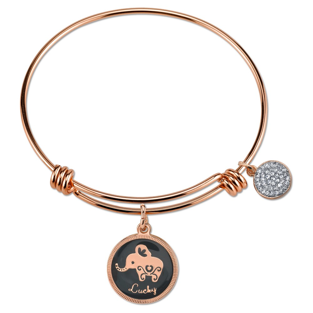 Target Women's Stainless Steel Lucky Elephant Expandable ...