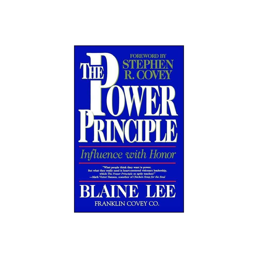 The Power Principle By Blaine Lee Paperback