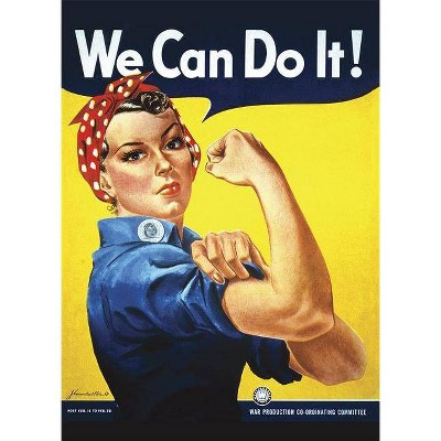 Rosie the Riveter We Can Do It! Notebook - by  J Howard Miller (Paperback)