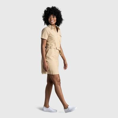 Women's United By Blue Organic Button-Down Shirt Dress