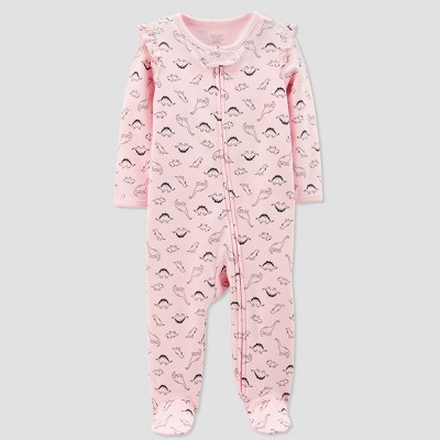 Baby Girls' Interlock Dino Sleep 'N Play - Just One You® made by carter's Pink Newborn