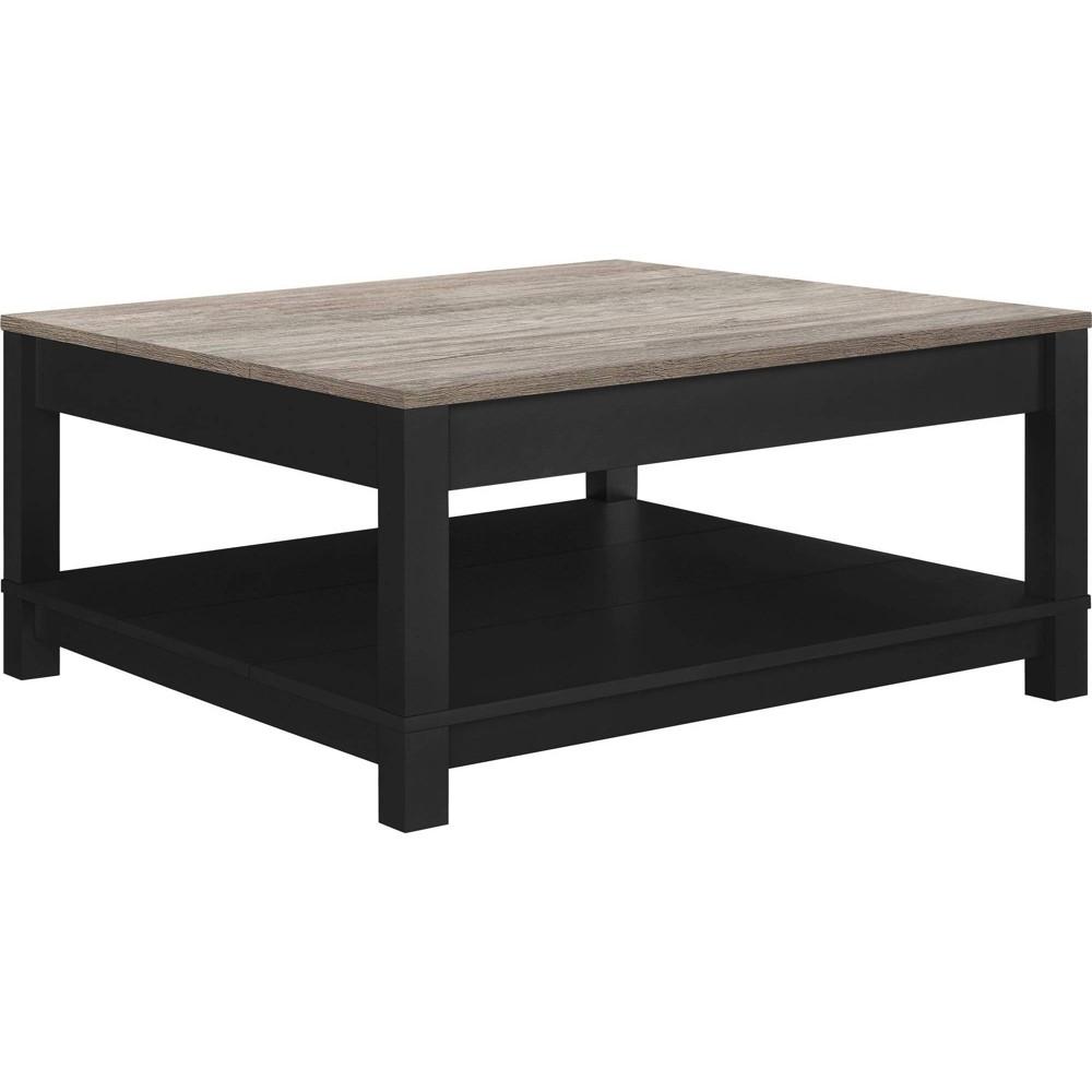 Paramount Coffee Table Black/ Sonoma Oak - Room & Joy
