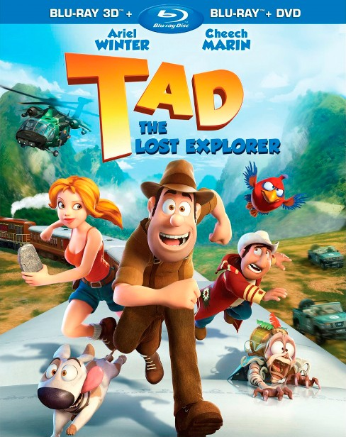 Tad:Lost explorer 3d (Blu-ray) - image 1 of 1