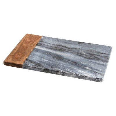Thirstystone Marble and Wood Serving Board