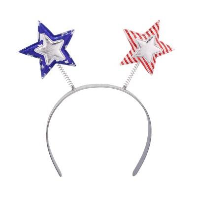 Parade Headband Stars Red White Blue - Sun Squad™
