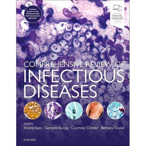 Comprehensive Review of Infectious Diseases - (Hardcover) - image 1 of 1