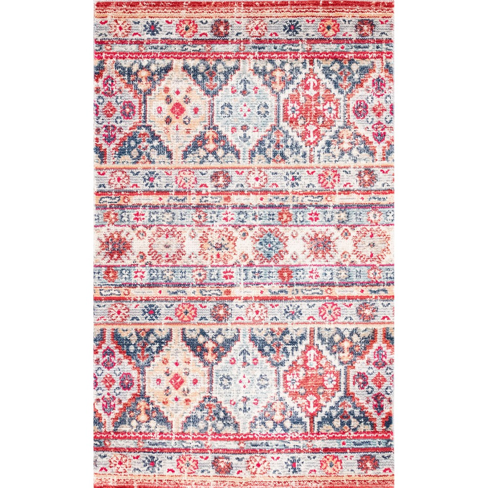"""Image of """"1'6""""""""X2'4"""""""" Stripe Woven Accent Rug - Liora Manne"""""""