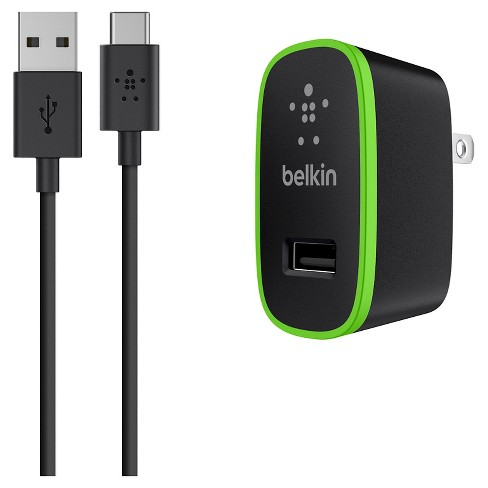 Belkin USB-C Cable + Home Charger 10W, 2.1A, 6' cable - image 1 of 2