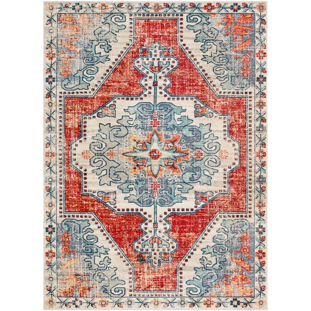 9 39 X12 39 9 34 Thatch Traditional Rug Red Artistic Weavers