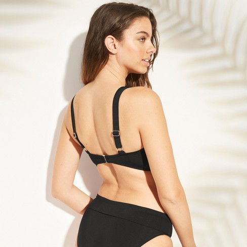 ad6570920e Women s Bralette Bikini Top - Sunn Lab Swim Black D DD Cup   Target