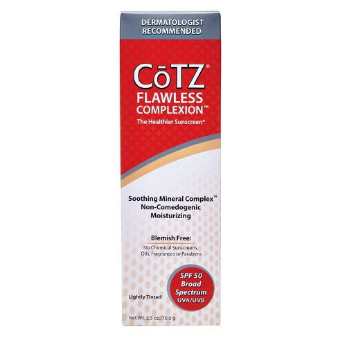 CoTZ® Flawless Complexion Sunscreen Lotion - SPF 50 - 2.5oz - image 1 of 2