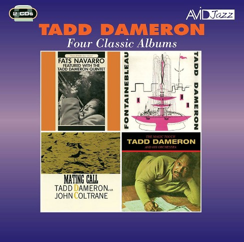 Tadd dameron - Fontainebleau/Mating call/Magic touch (CD) - image 1 of 1