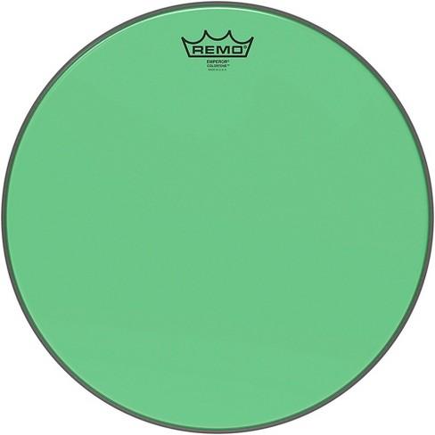 Remo Emperor Colortone Green Drum Head - image 1 of 2