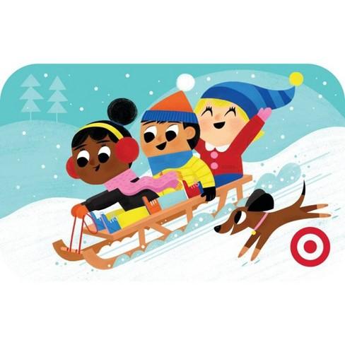 Sledding Kids Giftcard - image 1 of 1