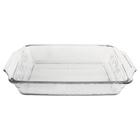 Anchor Hocking Laurel 3qt Bake Dish Clear - image 1 of 4
