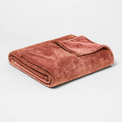 King Microplush Bed Blanket Coral - Threshold™