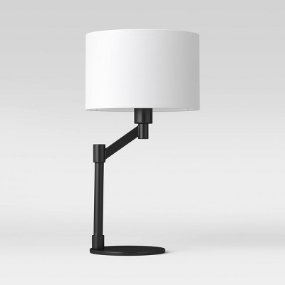 Modern Arm Table Lamp Black - Project 62™