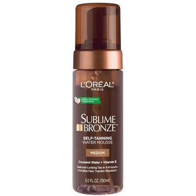 L'Oreal Paris Sublime Bronze Hydrating Self-Tanning Water Mousse - 5 fl oz