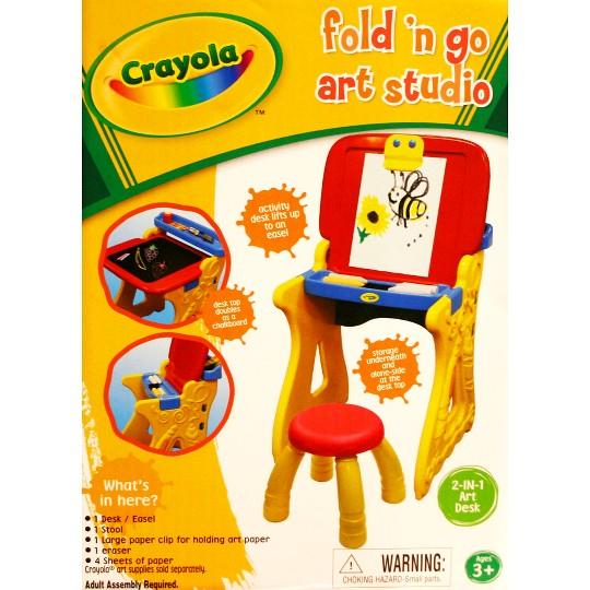 Grow'n Up Crayola Fold 'n Go Art Studio image number null