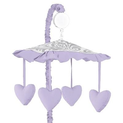 Sweet Jojo Designs Lavender Elizabeth Musical Mobile