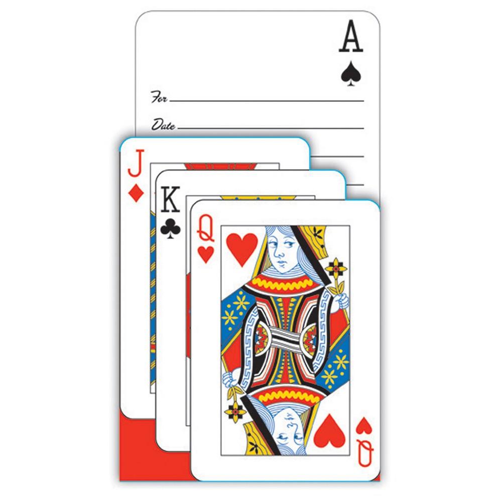 8ct Card Night Invitations