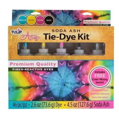 Tulip Artisan 46pc Soda Ash Tie-Dye Kit